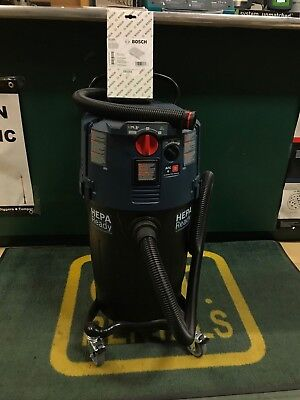 Nip Bosch Vac140a 14-gallon Dust Extractor With Automatic Filter Clean