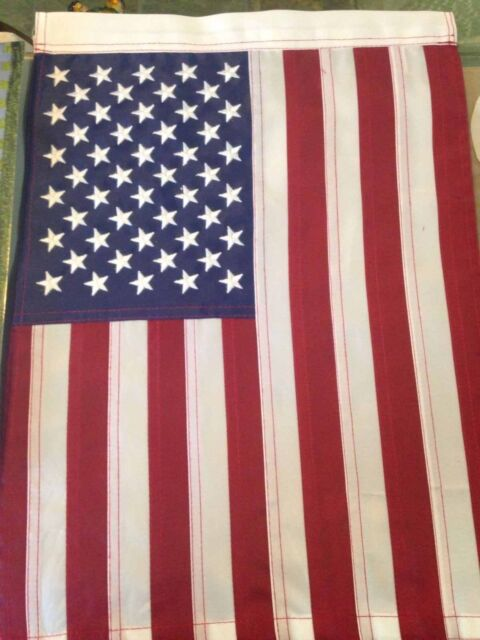 Embroidered United States American Garden Flag 12 X 18 eBay