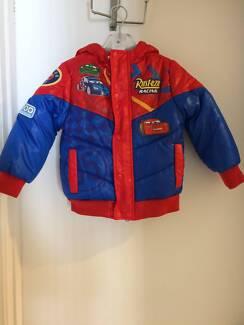 Disney Cars Boys Puffy Jacket
