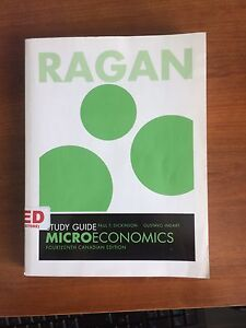 Microeconomics Study Guide 14th Canadian Edition