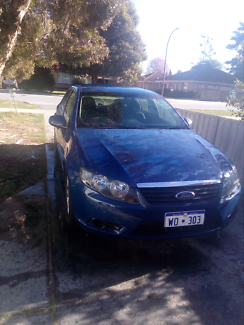 Fg falcon xt sedan 4.0L 5 speed auto 2011