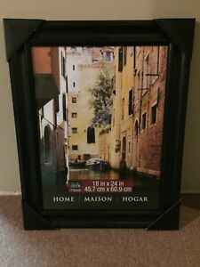 Beautiful Black Frame from Michaels NEW