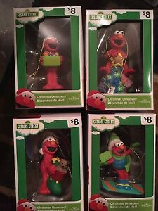 New in package Sesame Street ornaments $5 each