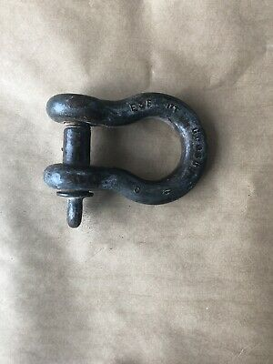 Crosby Usa 17t Ton Lifting Rigging Shackle 1 12 Pin Steel.