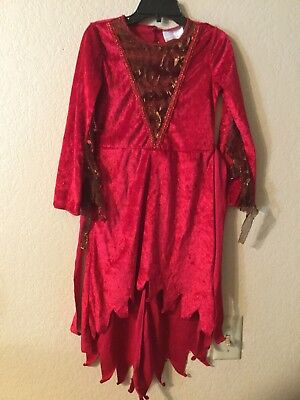 Divine Devil Red Diva Costume Dress Girls size 4-6X  JUST - Devil Diva Costume