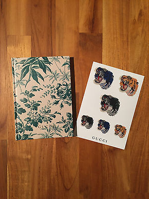 GUCCI NOTEBOOK AND STICKER Japan magazine UOMO