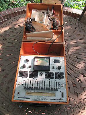 Vintage Precision Cr-30 Cathode Ray Tube Tester Rejuvenator