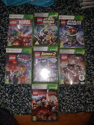 Lego Xbox 360 games bundle