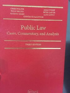 Public Law NCA textbook