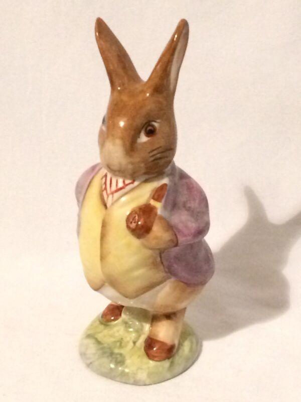 Vtg Beatrix Potter Figurine MR BENJAMIN BUNNY Warne Beswick England 1965 🐰