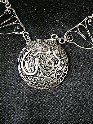 Very nice pendant berber silver filigree