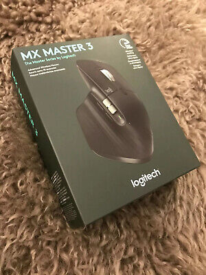 *NEW IN BOX* Logitech MX Master 3 Wireless Laser Mouse 910-005647 🔥FREE SHIP🔥