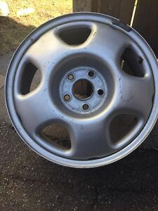 Honda steel rims