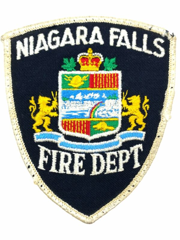Canadian Niagara Falls Fire Department Patch