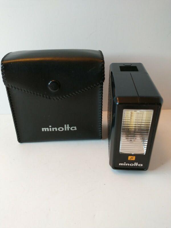 Minolta Electroflash 2 with Case