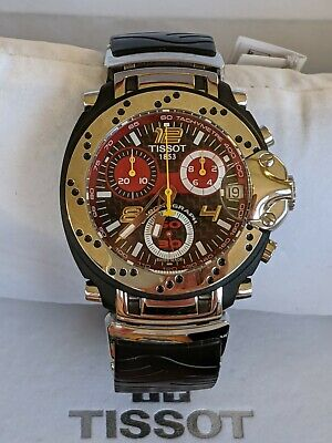 TISSOT MOTO GP  2006 OFFICIAL TIMEKEEPER T90.4.296.84  WATCH NEW""