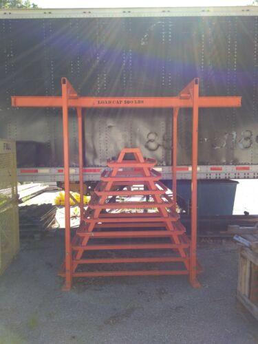 Heavy Duty Manufacturing Material Rack 1500 Lb Capacity Stock Tree
