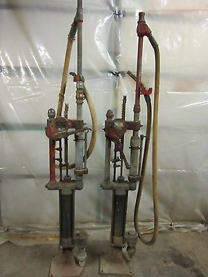 Antique Gilbert & Barker T-6 model 3 Self Measuring Gas Pumps Vintage Old