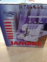 NEW janome 9102d harmony overlocker Georges Hall Bankstown Area Preview
