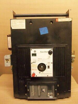 Ge Thp Thp2525ttr Micro Versa Plus 3 Pole 2500 Amp Breaker Flaw Bkr-372 Lsi Flaw