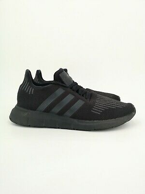adidas Mens Swift Run Running Shoes UK Size 10.5 Black Trainers
