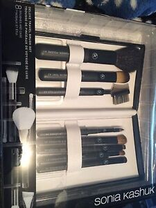 New makeup brushes