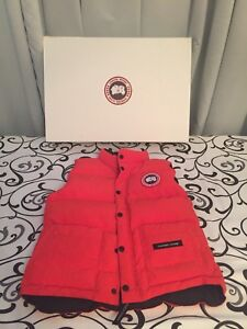 Youth Canada Goose Vest