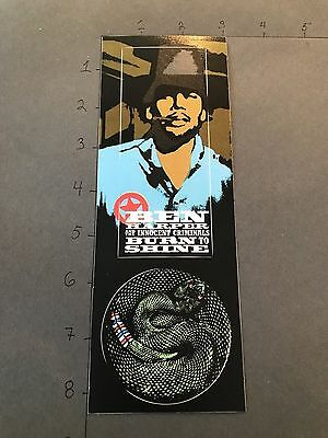 VINTAGE PROMO STICKER Ben Harper Burn To Shine RARE promo sticker 1999