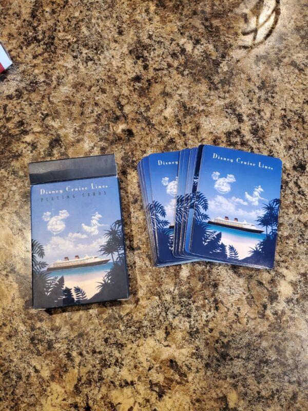 Disney Cruise Line Playing Cards. Mickey Disney Magic / Disney wonders Poker