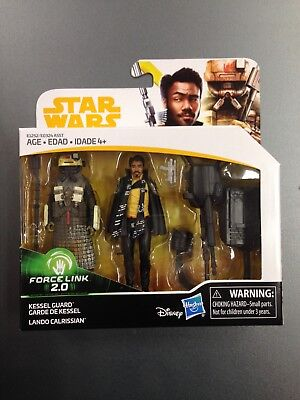 2018 Kessel Guard   Lando Calrissian Star Wars Force Link 2 0 3 75  2 Pack