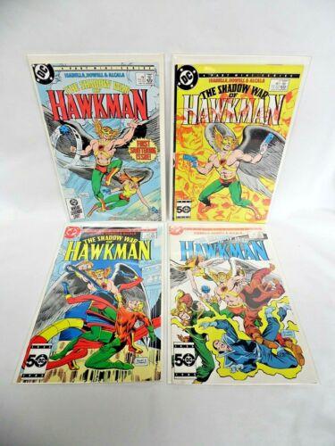 The Shadow War Of Hawkman 1 2 3 4 DC Comic Lot 1985 Complete Mini Series