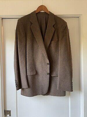 Vintage Tiger of Sweden Sportscoat Blazer in Brown 100% Wool Mens Size 42R
