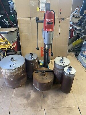 Milwaukee Dymodrill Core Drill With Bits