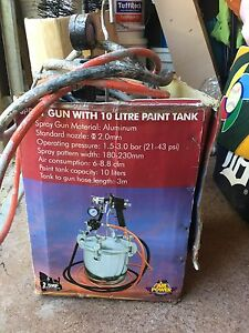 Spray Gun with 10L Paint tank. Newport Pittwater Area Preview