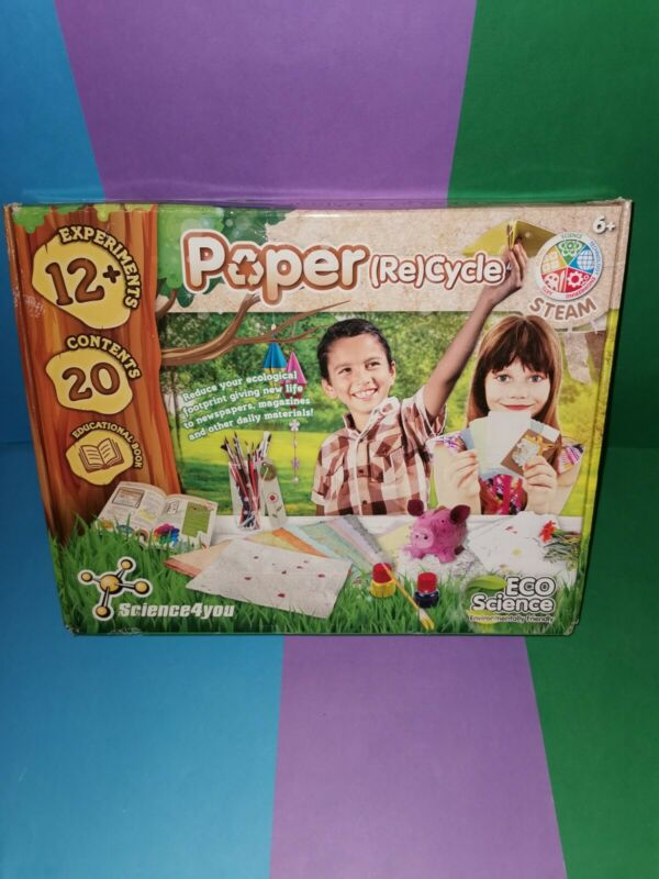 Science+4+You+Paper+%28Re%29Cycle%2CEco-Science+Range%2C+Education+STEM+Kit+for+Kids+4%2B