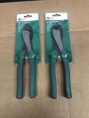 Commercial Electric 9-34 In. Crimping Tool And Cutter2pk