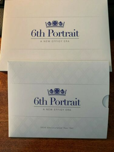 2020 Royal Australian Coin Proof and Uncirculated Coin Set - 6th Portrait