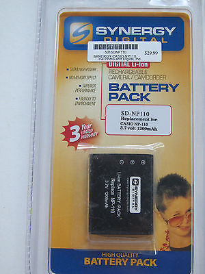 sd np110 replacement battery for casio np