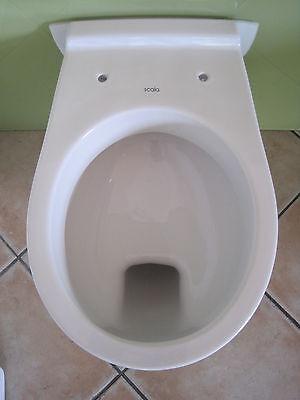 Toilette Hänge Wand WC Flachspüler  Ideal Standard  für WC - Vorwandelemente