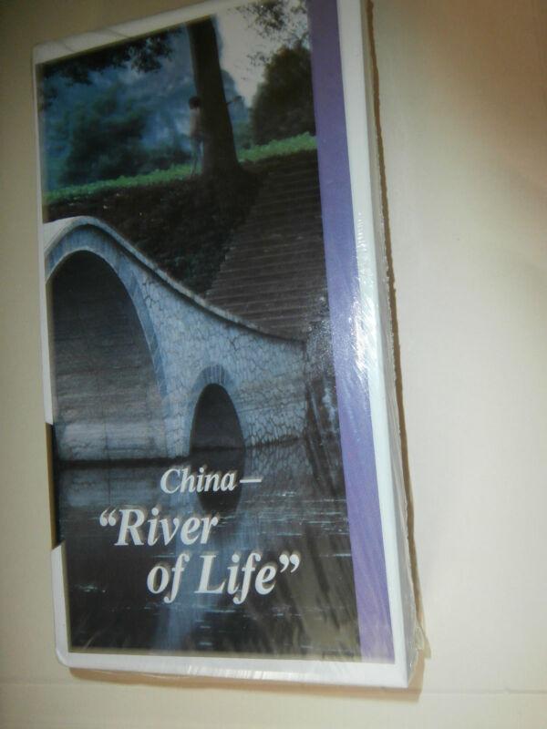 """VHS """"China: River of Life"""""""