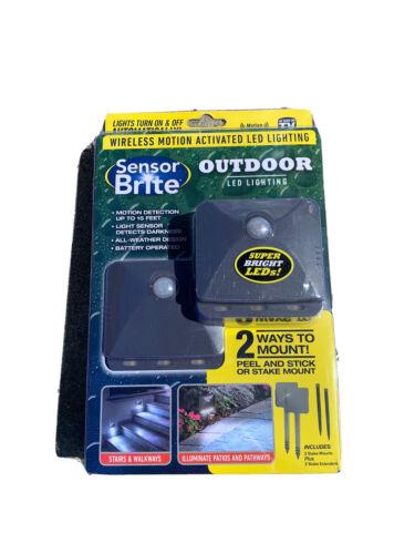 Sensor Brite Outdoor - Motion Sensor LED Flood Light, 2 Pack