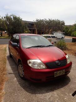 2002 Toyota Corolla Sedan Byron Bay Byron Area Preview