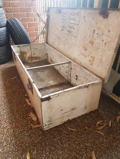 Tool box ute trailer