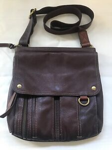 Super soft Fossil leather Crossbody