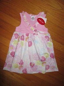 NWT-Baby-Nay-Geisha-Daisy-Sleeveless-Kimono-Dress-Size-2T