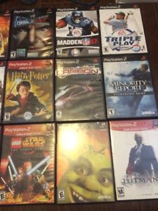 Assorted PlayStation 2 games