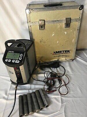Ametek Jofra Ctc-320a Dry Block Marine Temperature Calibrator B80