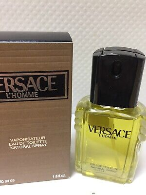 Versace L'Homme EDT Spray 1.6 Oz. 80's Edition. Vintage