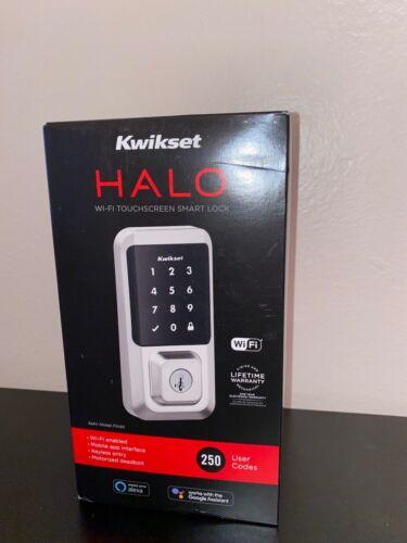 NEW Kwikset 99390-001 Halo Wi-Fi Smart Lock Keyless  Electronic Touchscreen *