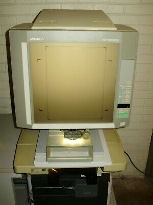 Minolta 603z Plain Paper Microfichemicrofilm Reader Printer-fiche Carrierlens